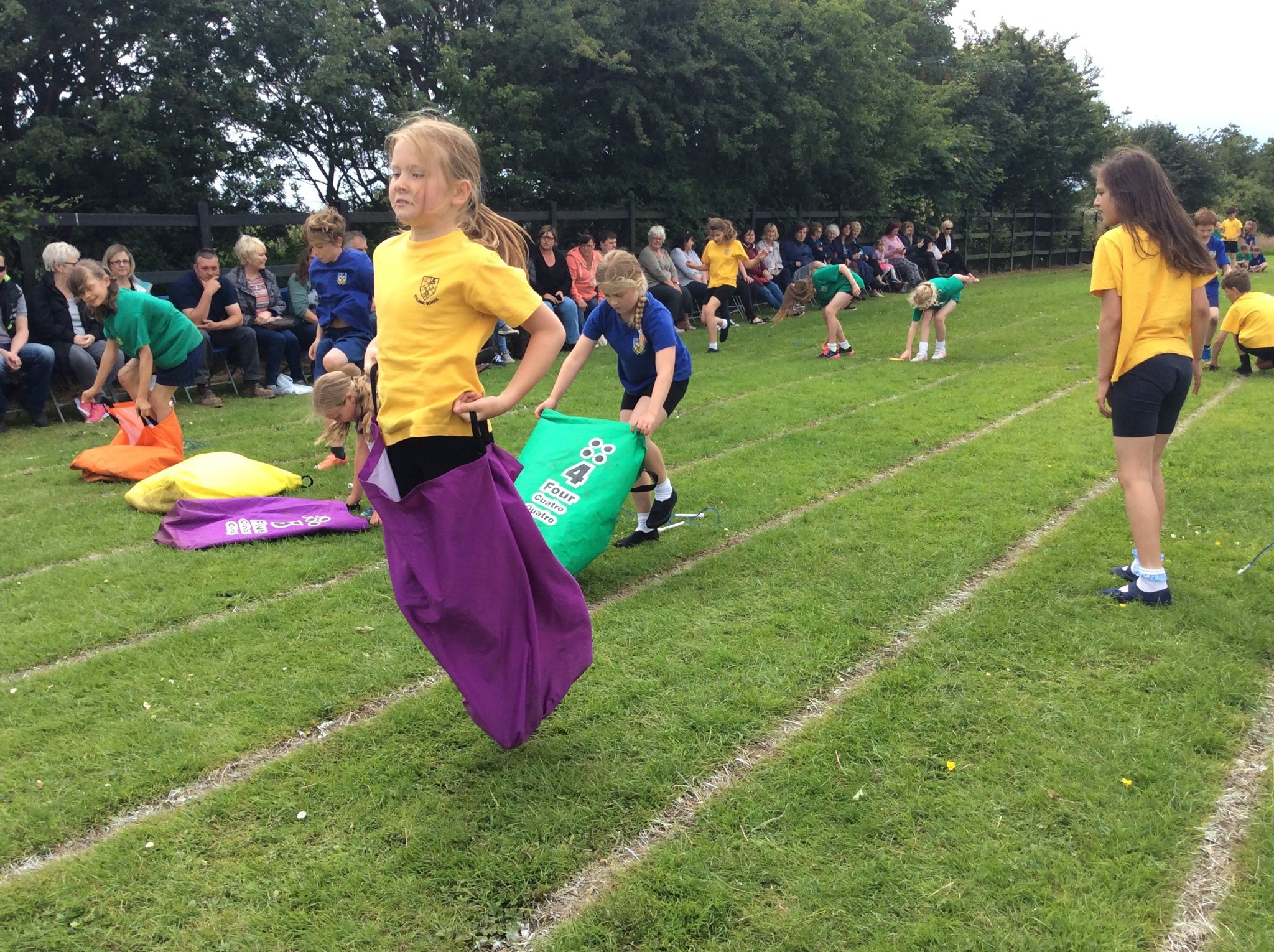 sports day in primary school